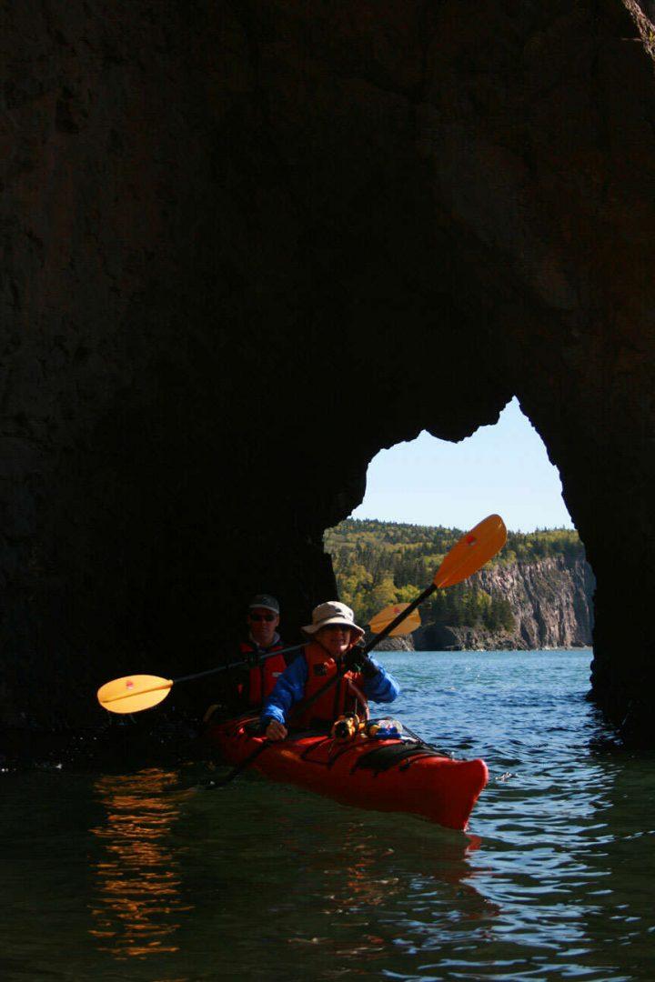 Kayaking Fundy
