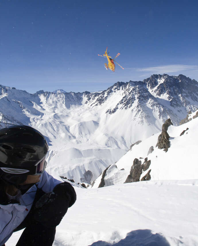 Heli Skiing Chile