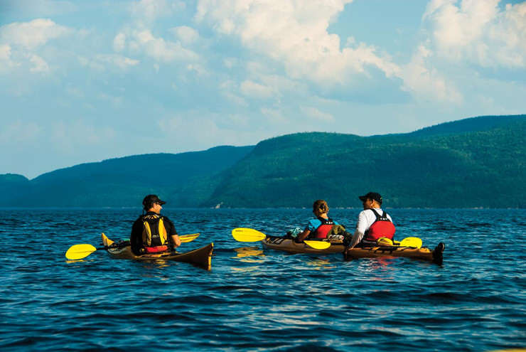 Kayaking Saguenay South