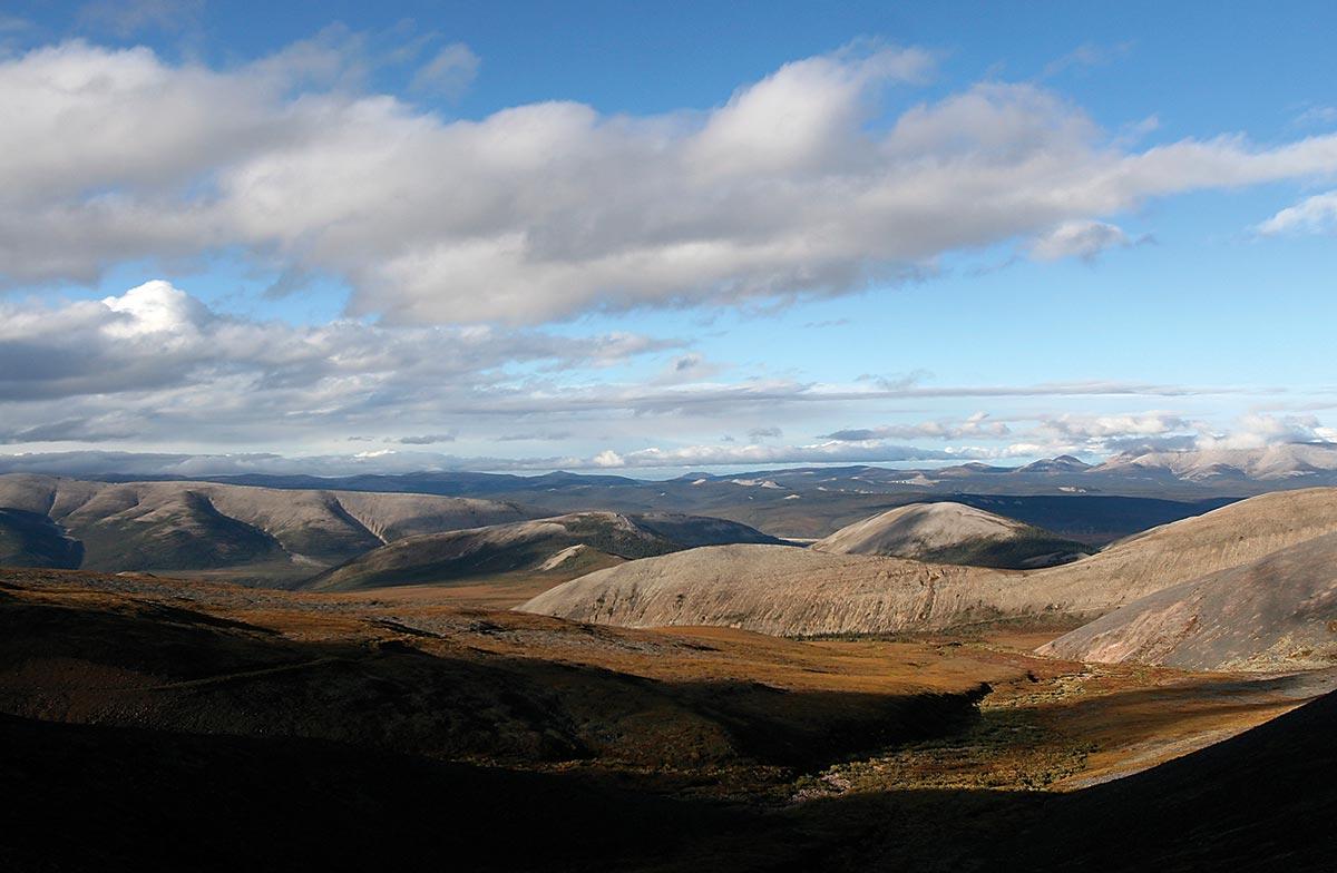 canol trail landscape