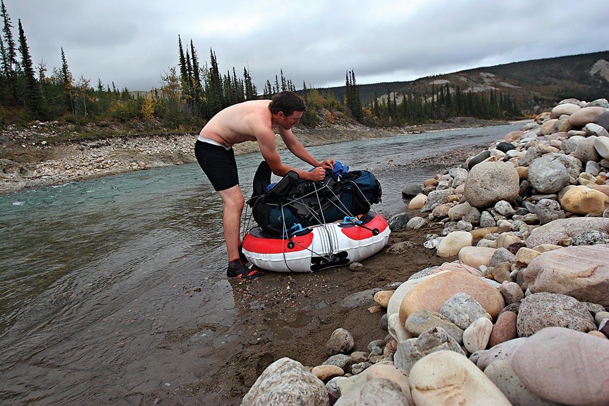 canol trail rafting