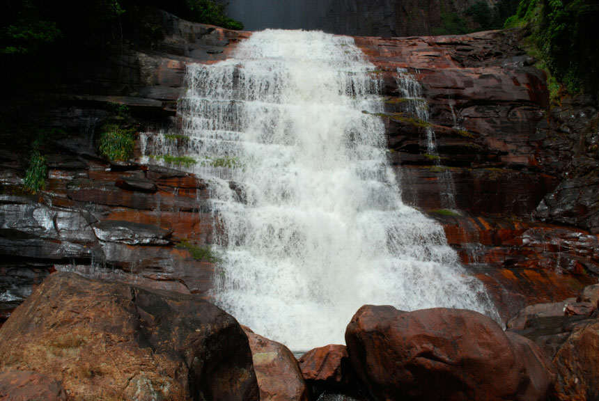 Base of Angel Falls