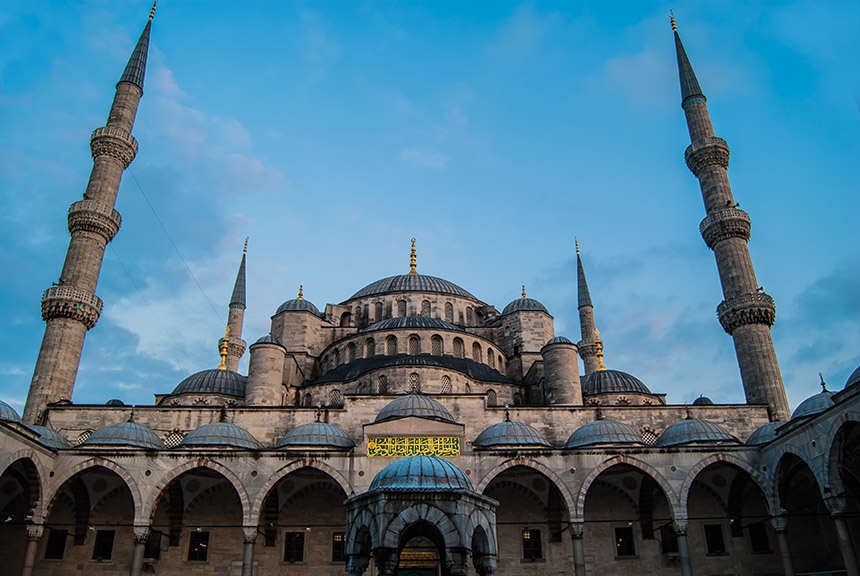 Blue Mosque Facade