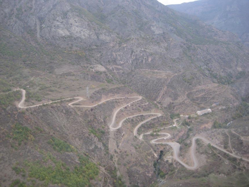 vorotan river gorge