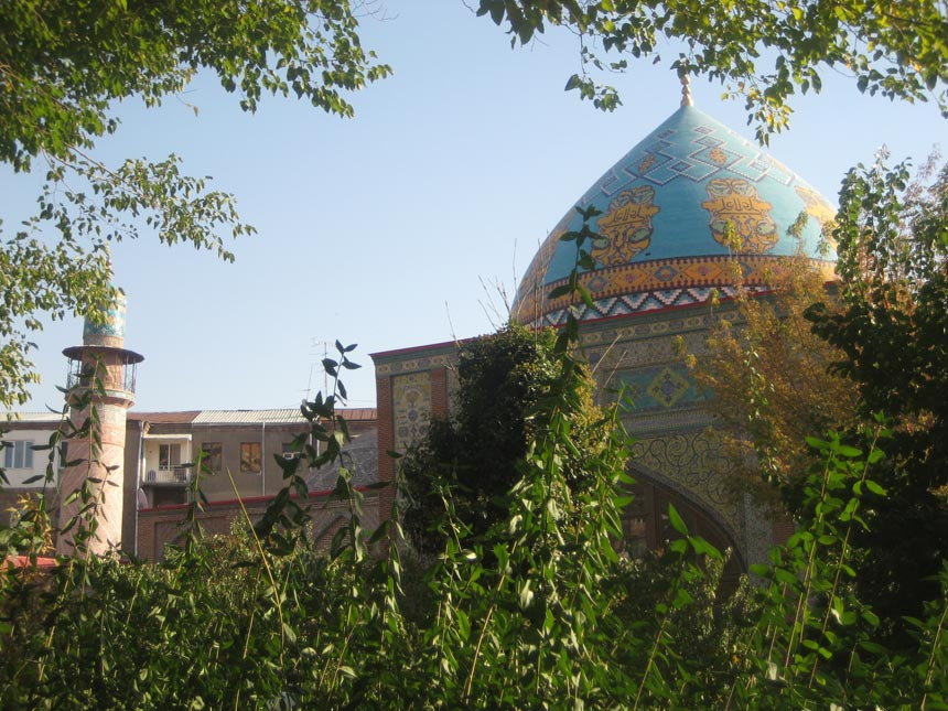 Blue Mosque Yerevan Armenia