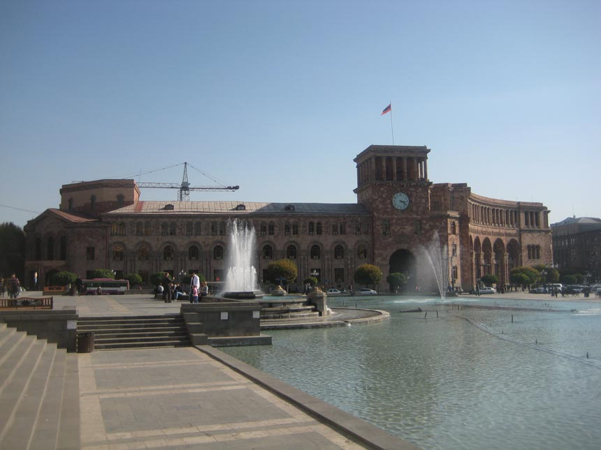 Republic Square Yerevan Armenia