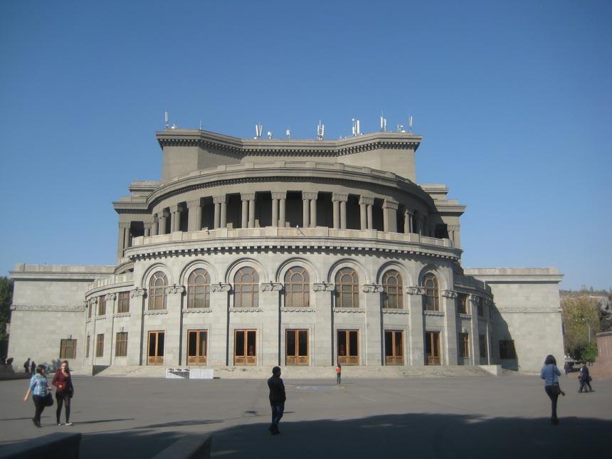 Yerevan Opera House Armenia
