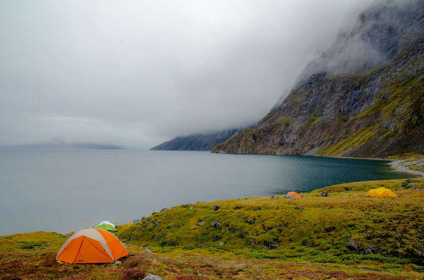 Pond Inlet Camping