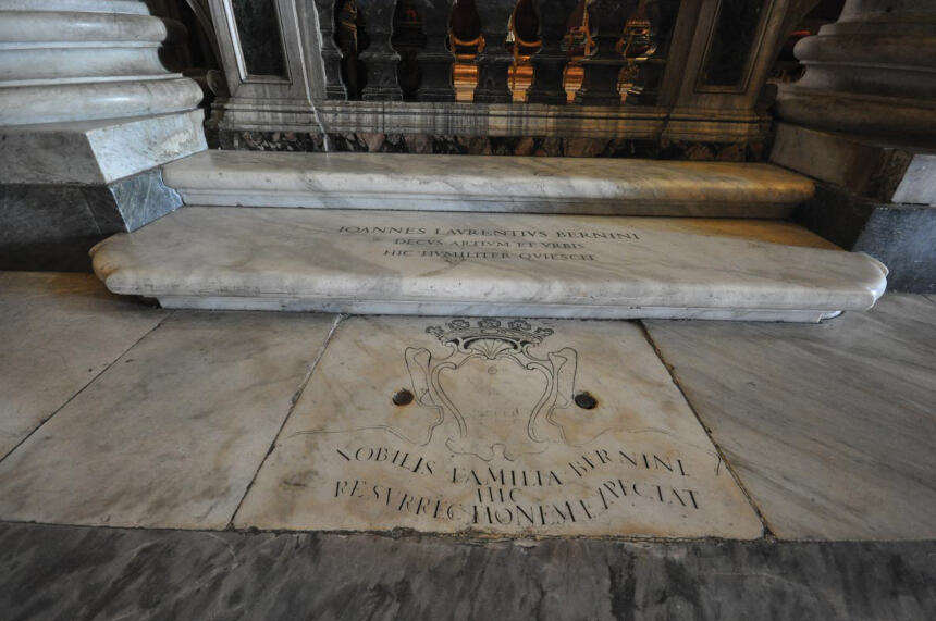 Grave of Bernini