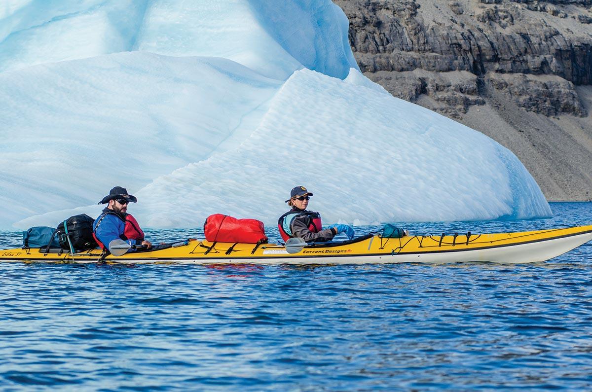 kayaking tour baffin island