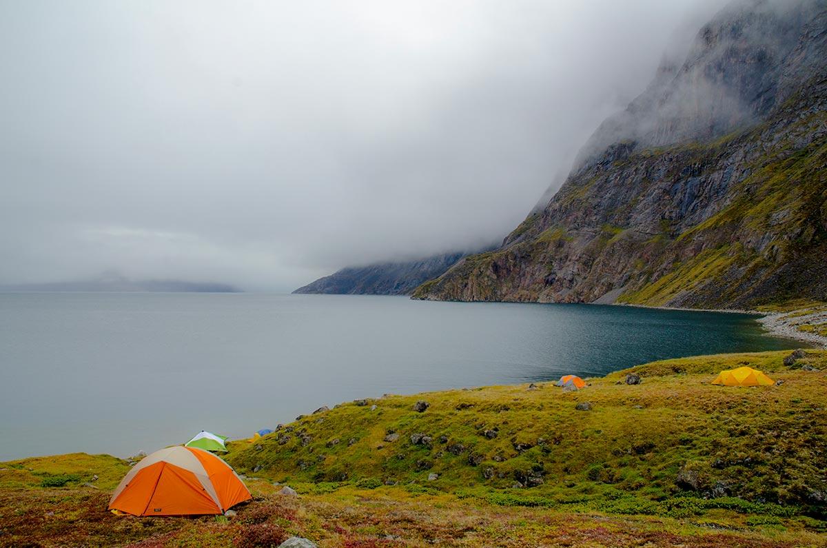 baffin island camping