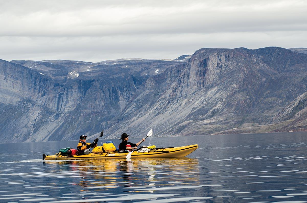 kayak tours nunavut