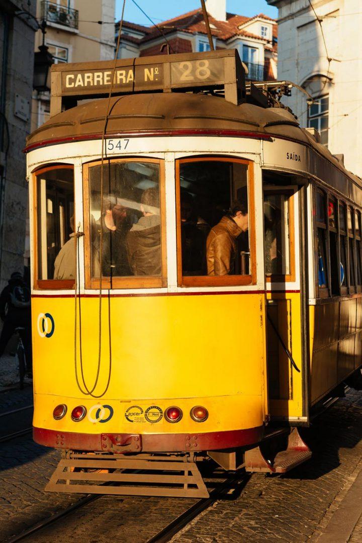 Lisbon Portugal's Tram 28