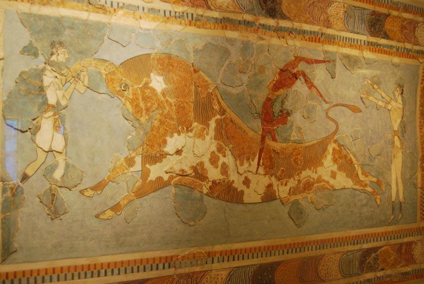 Crete Mural Greece