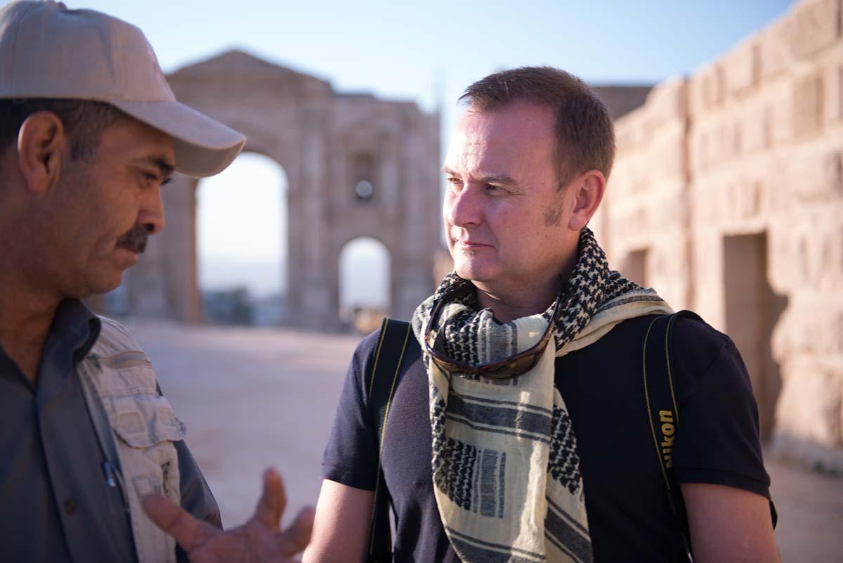 Simon in Jordan