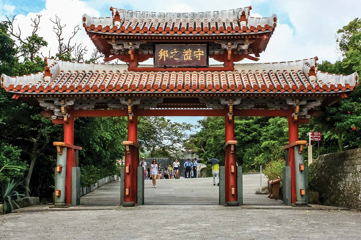 Okinawa Temple