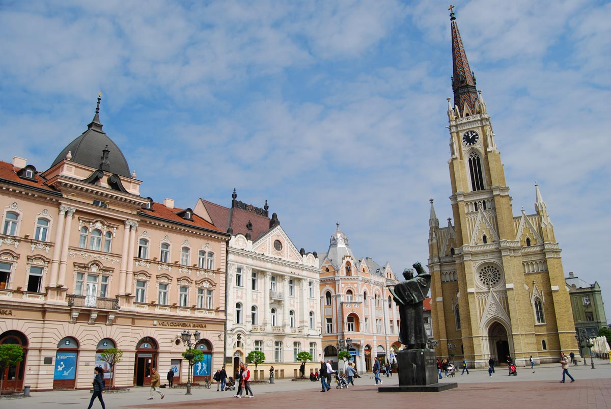 Novi Sad Freedom Square