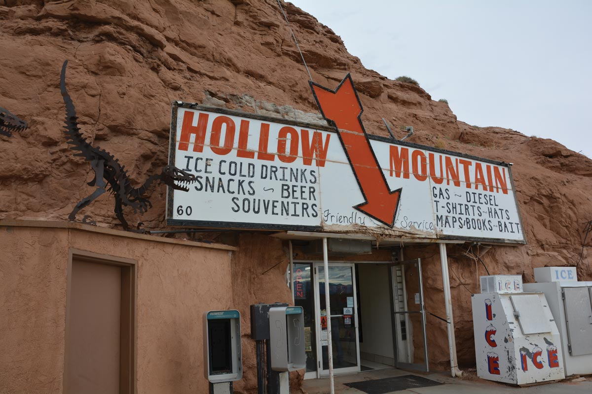 hollow mountain gas station utah