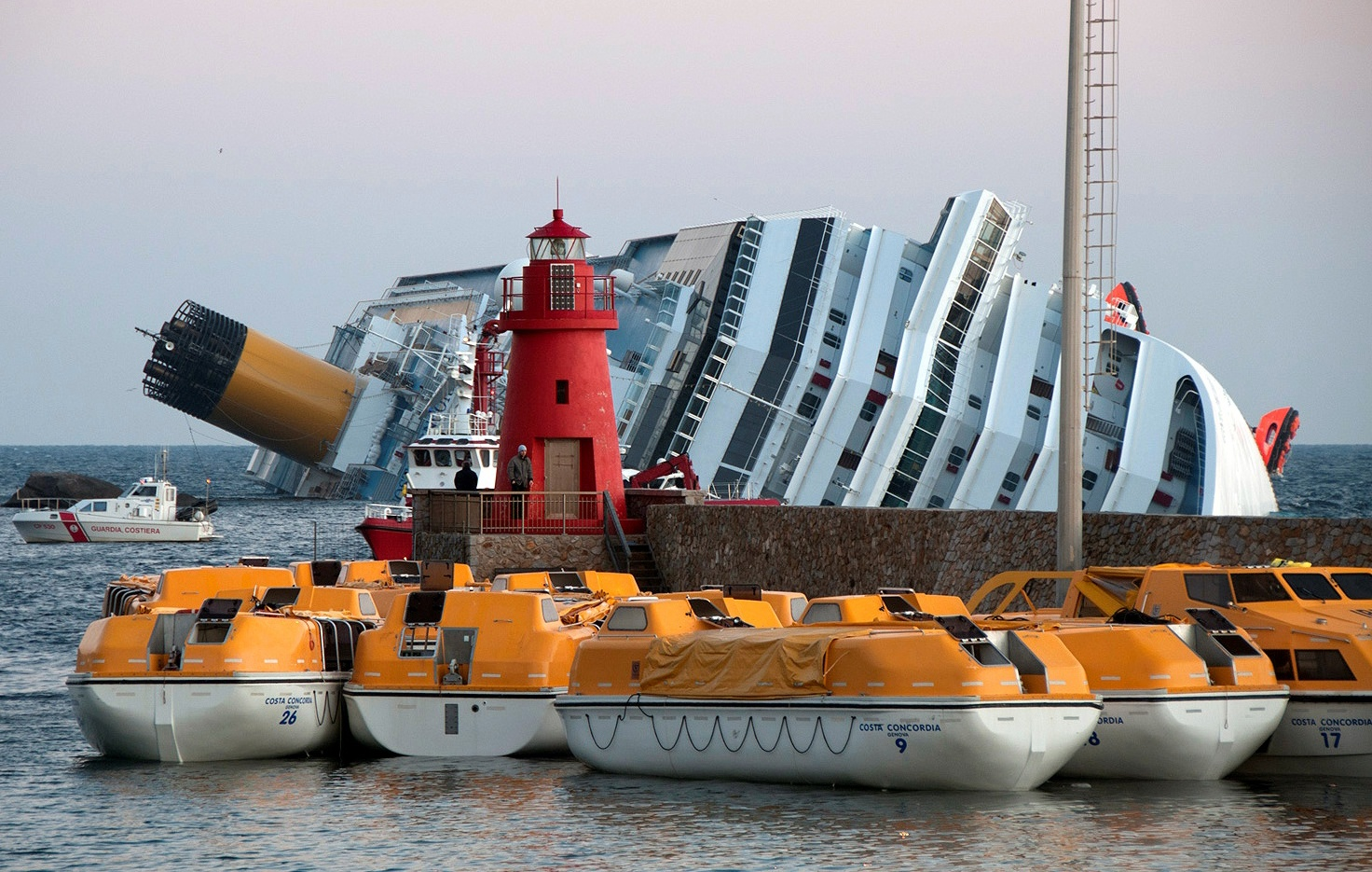 costa concordia safety