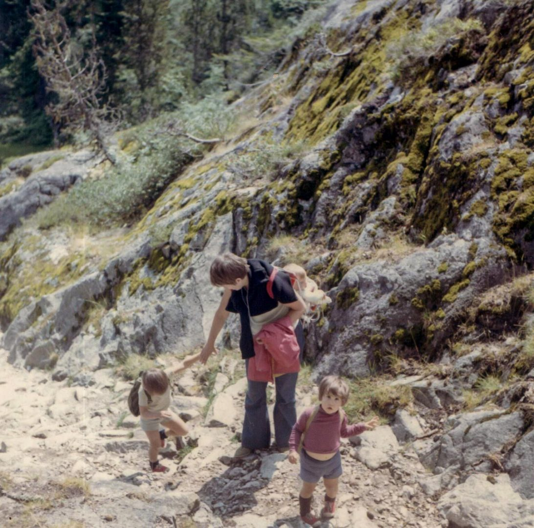 1960s French Pyrenees vacation photo