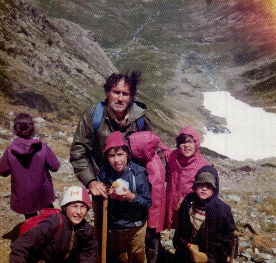 1970s france hiking photographs
