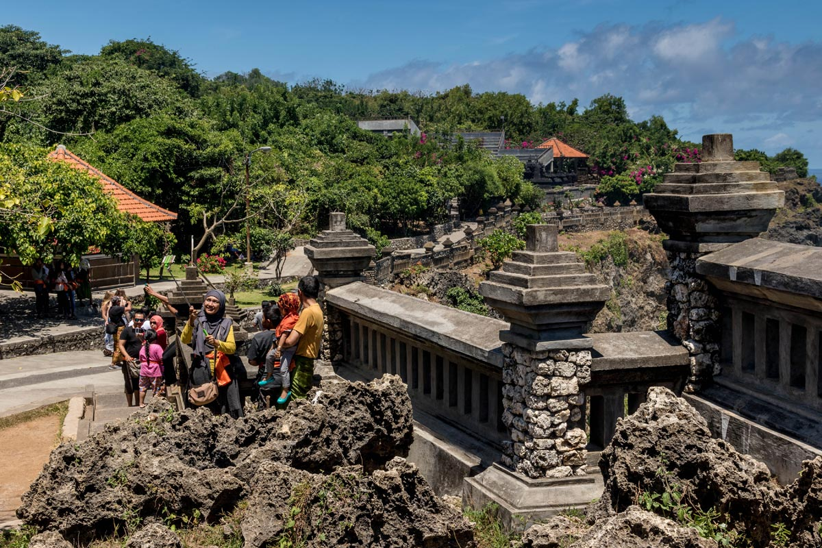 What it's like in Uluwatu Temple Bali