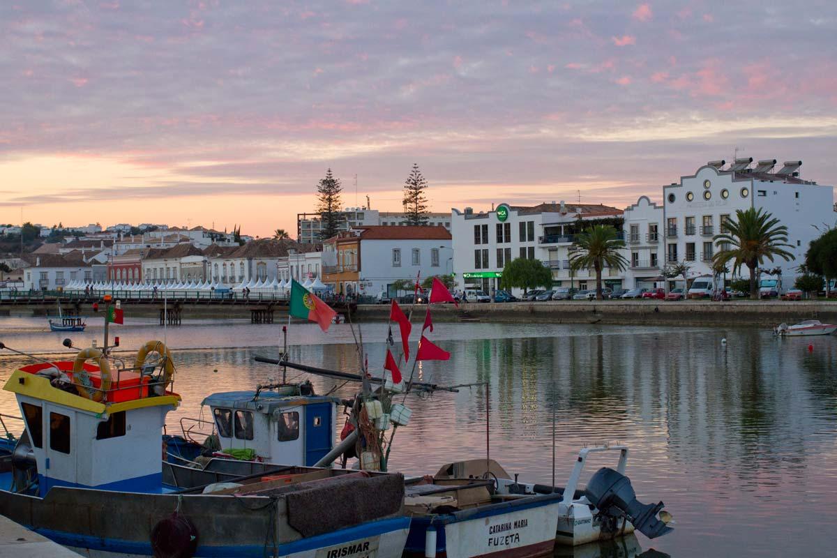 Tavira trip Algarve Portugal