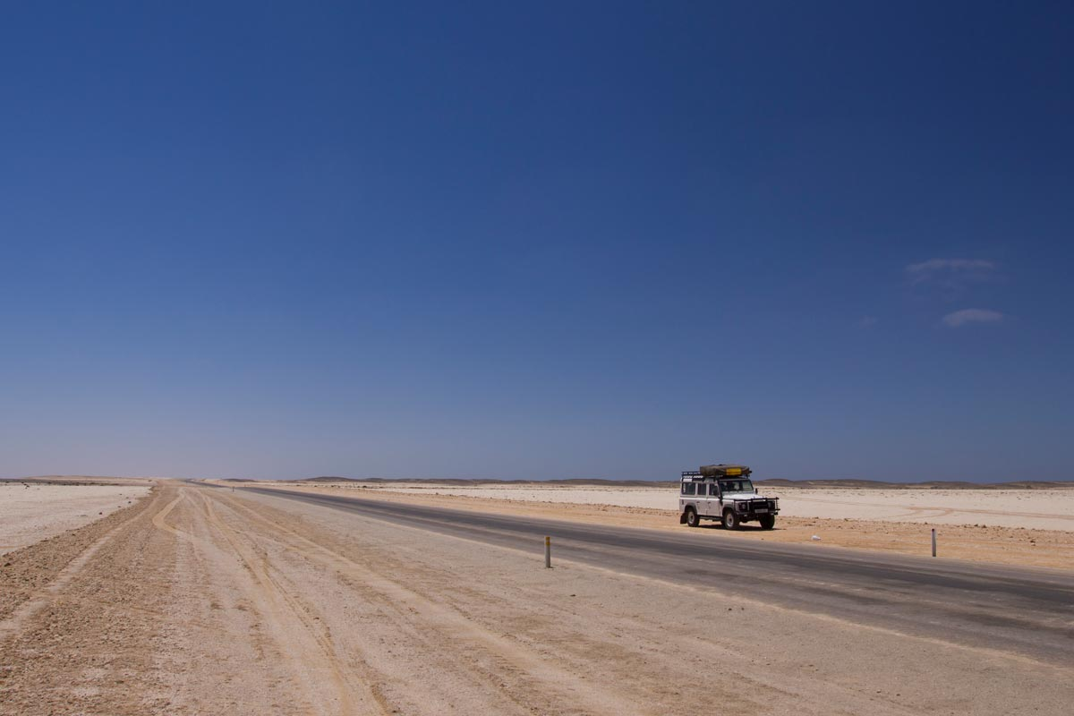 how to do a namibia self drive safari