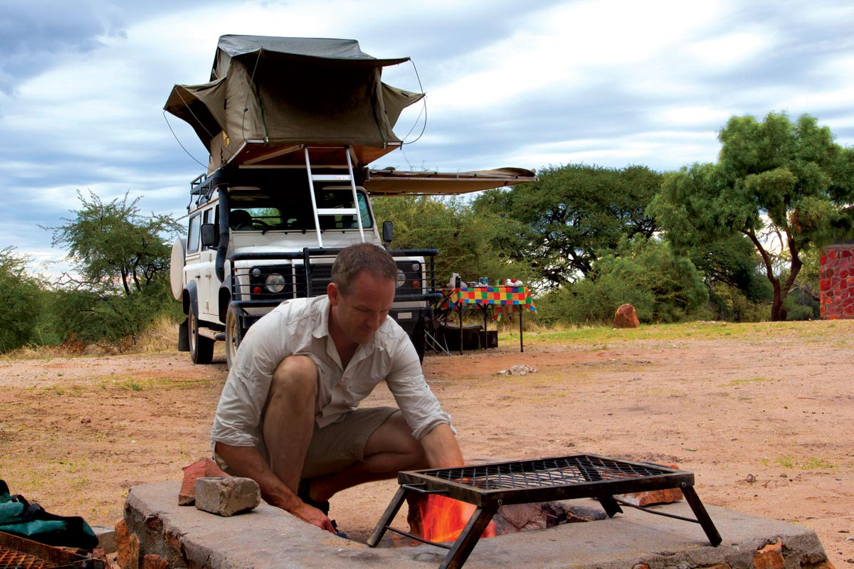 camping namibia self drive safari