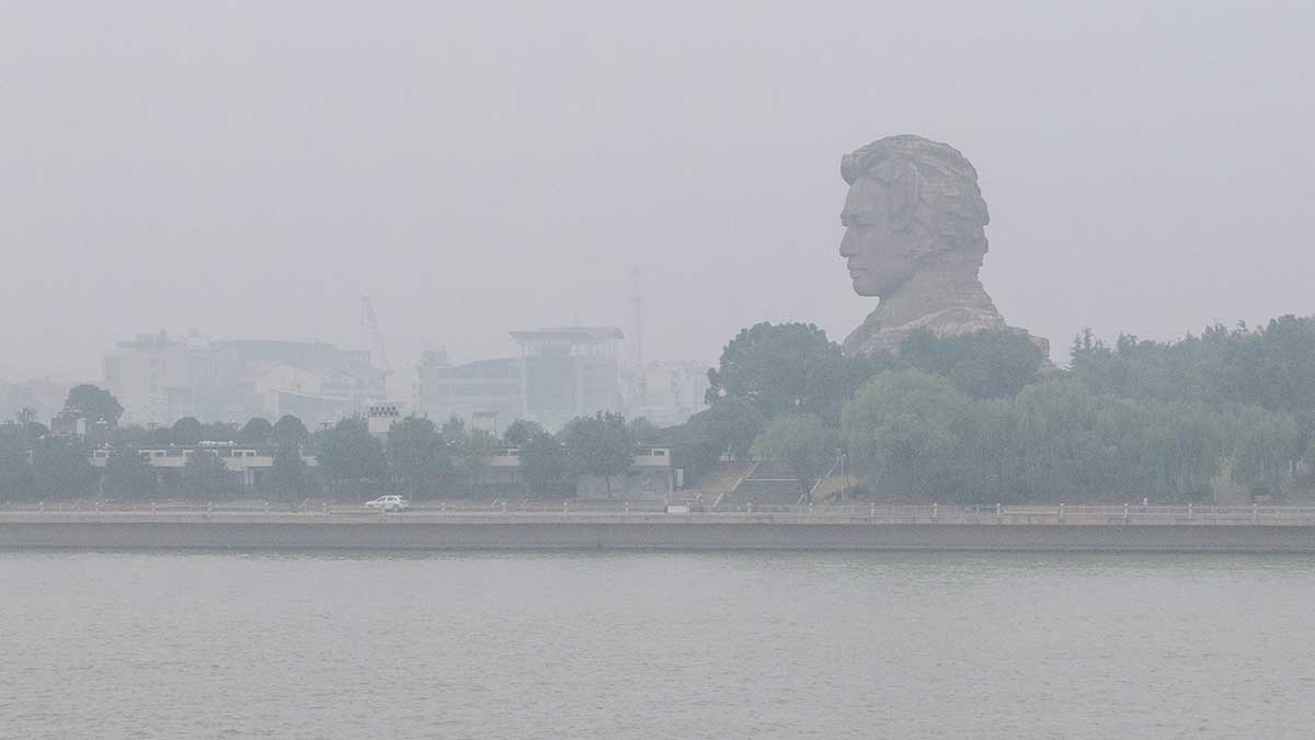 changsha mao statue