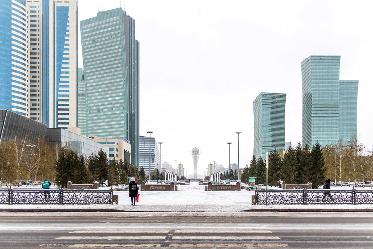 qastana cityscape kazakh