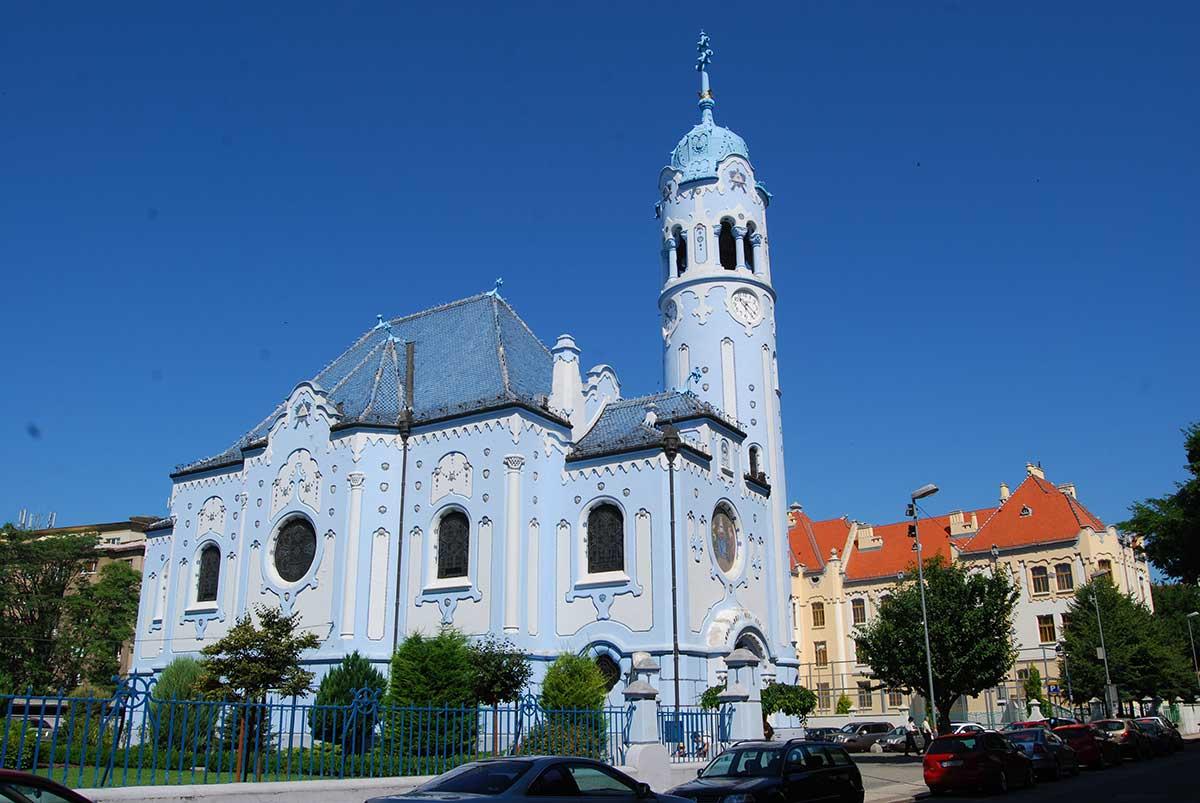 bratislava slovakia elisabeth church