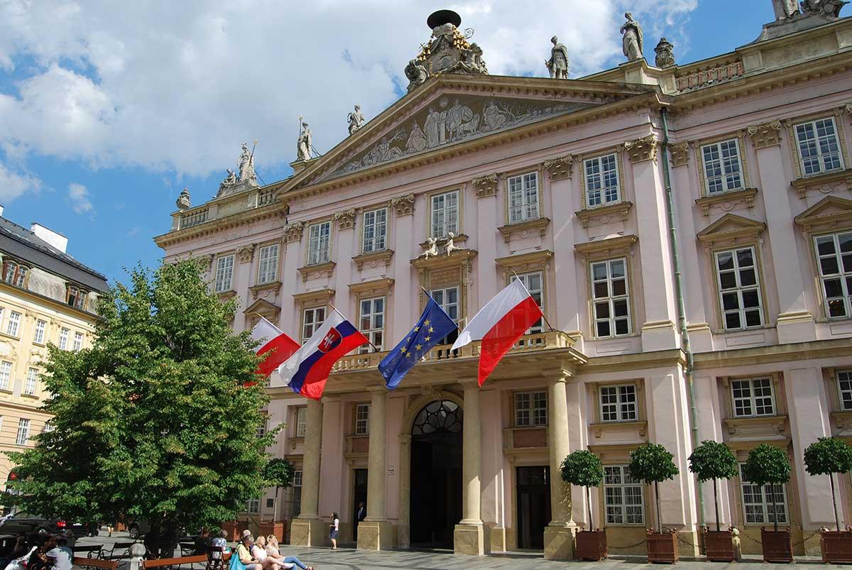 bratislava slovakia primate's palace