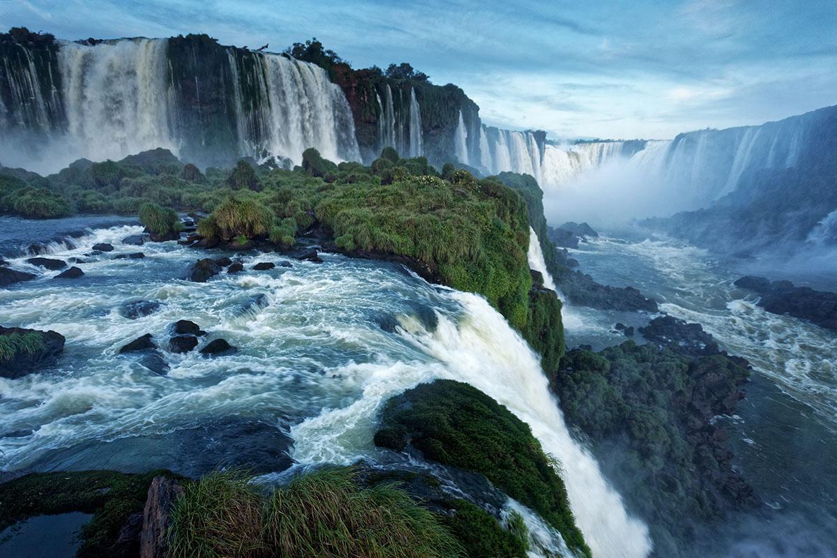 santa maria falls brazil iguazu