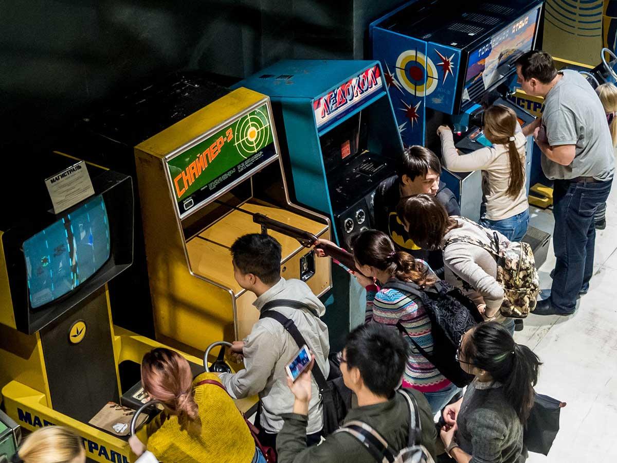soviet arcade museum