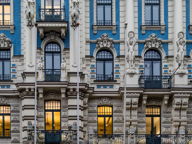 riga latvia architecture