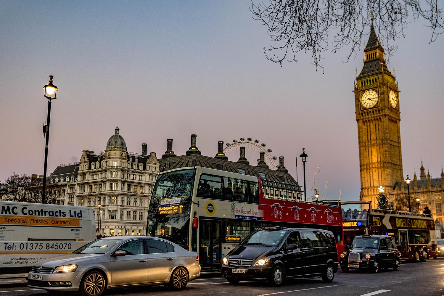 london travel story