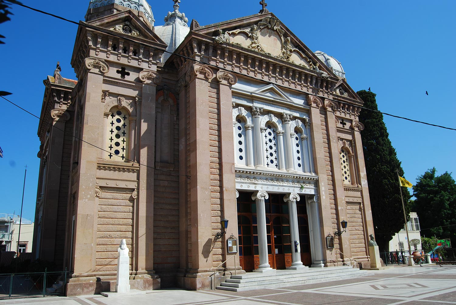 lesvos cathedral architecture