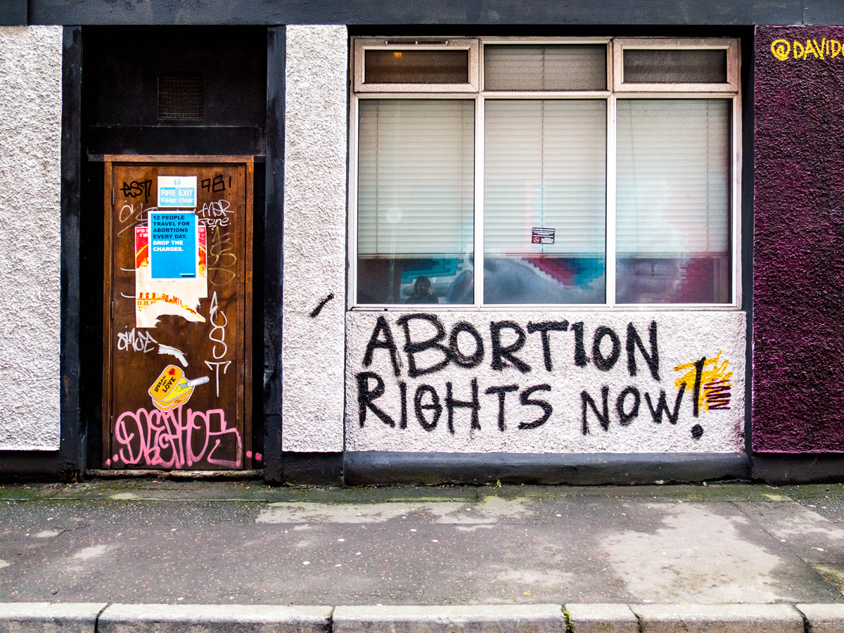 abortion rights ireland protest
