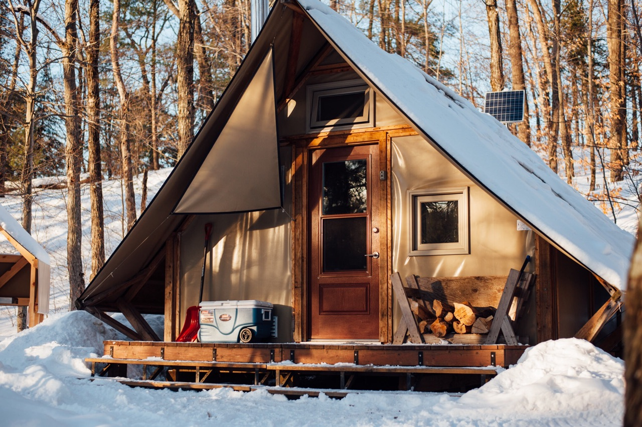 What its like winter camping in gatineau park gatineau winter camping park solutioingenieria Gallery