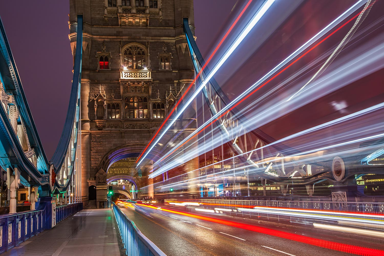 long exposure tower bridge
