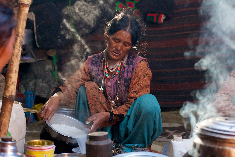 zanskar woman india
