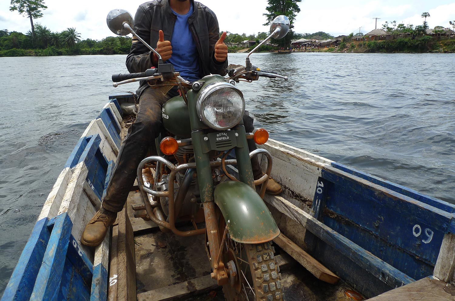 royal enfield african ride