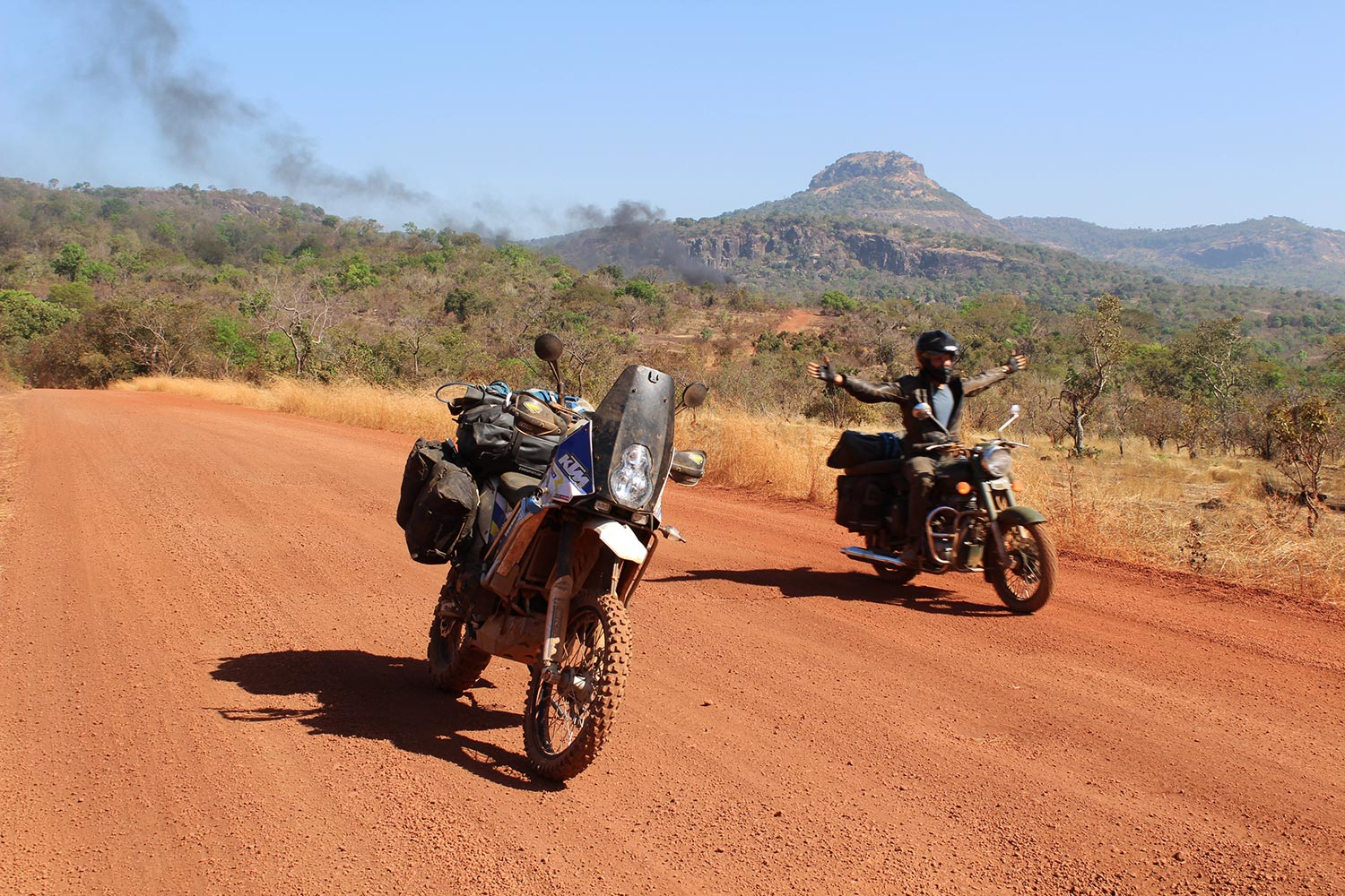 west africa motorcycle ride