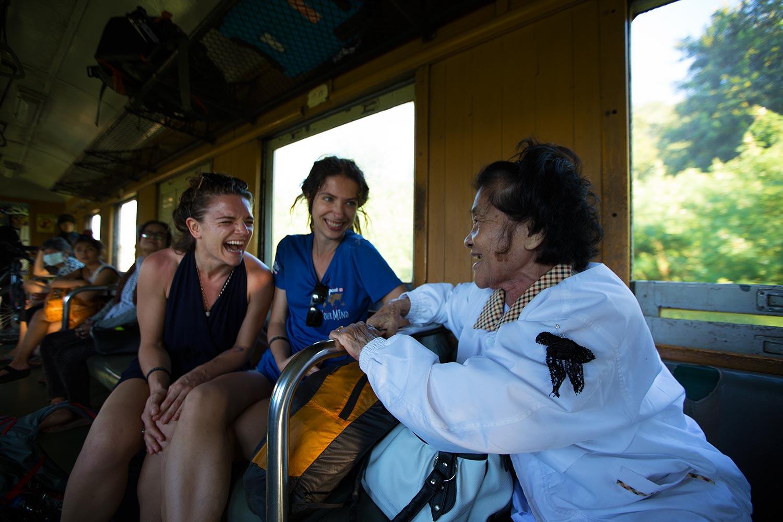 thai train ride
