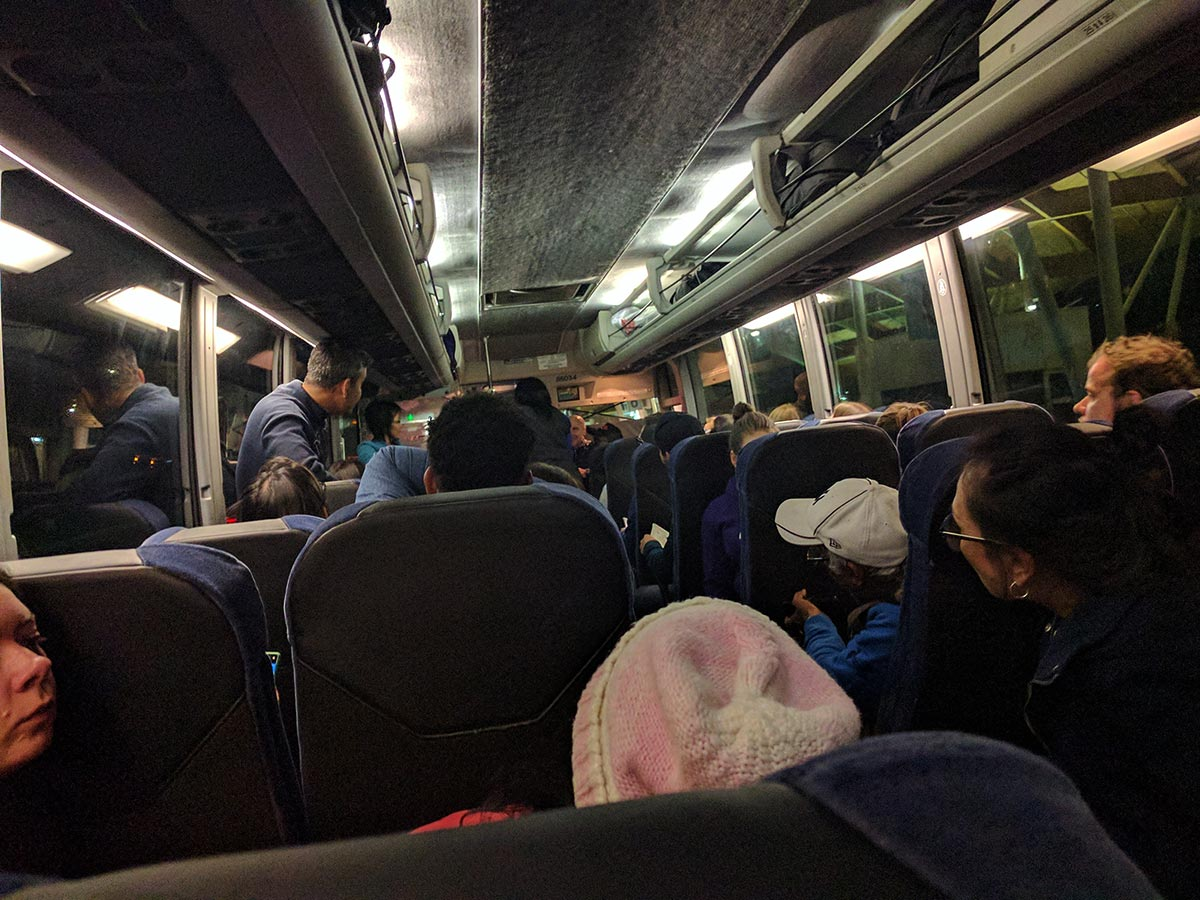 greyhound bus horror story