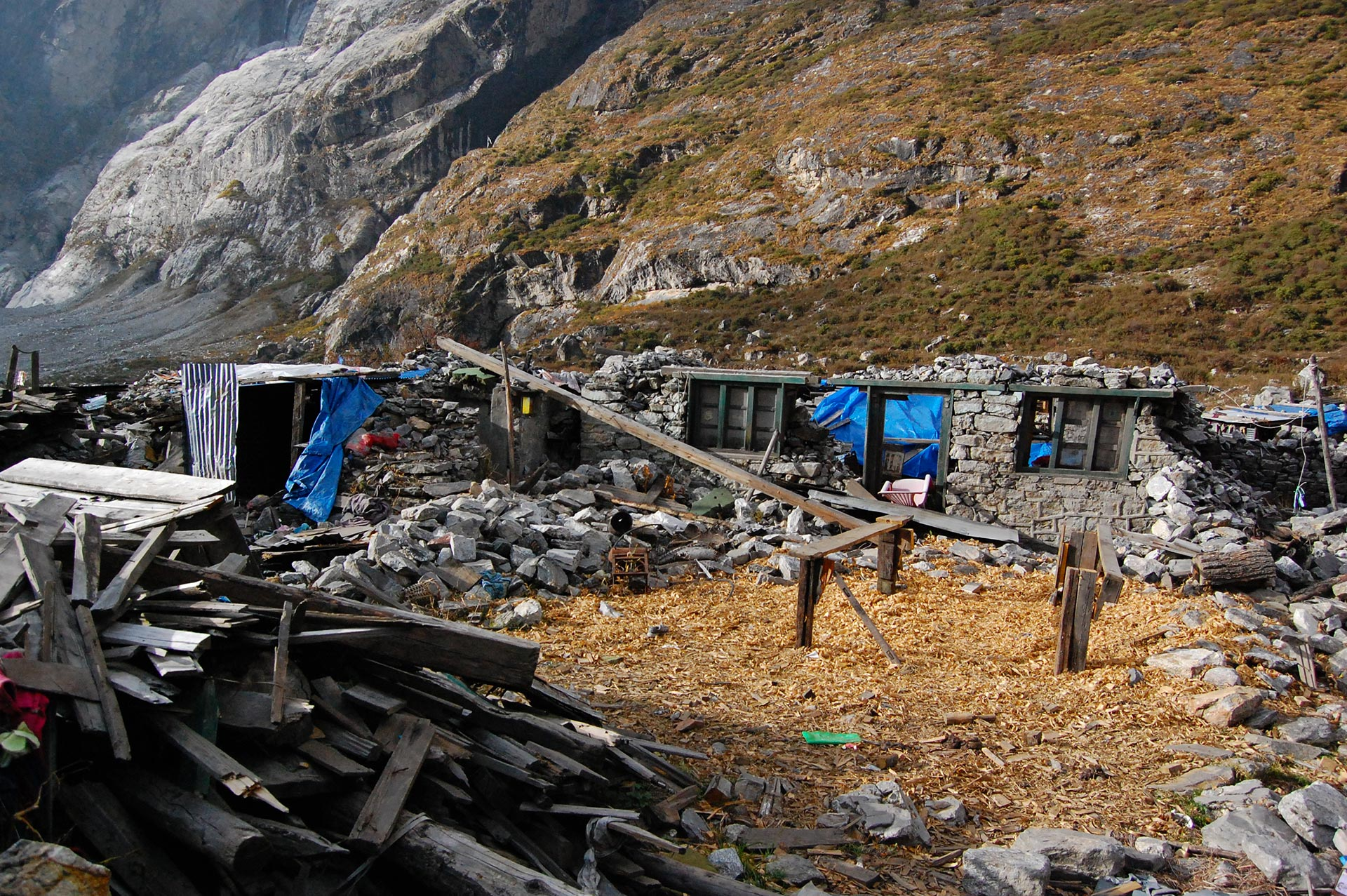 langtang nepal earthquake travel story