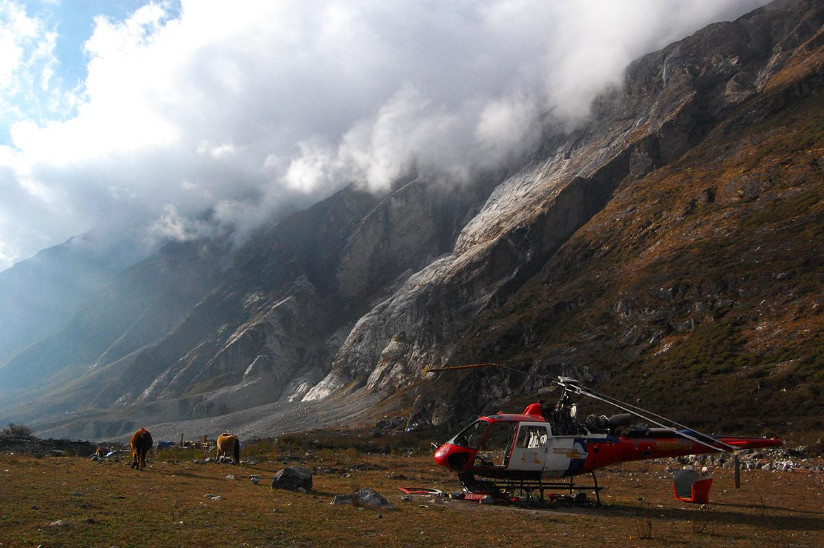 langtang earthquake nepal