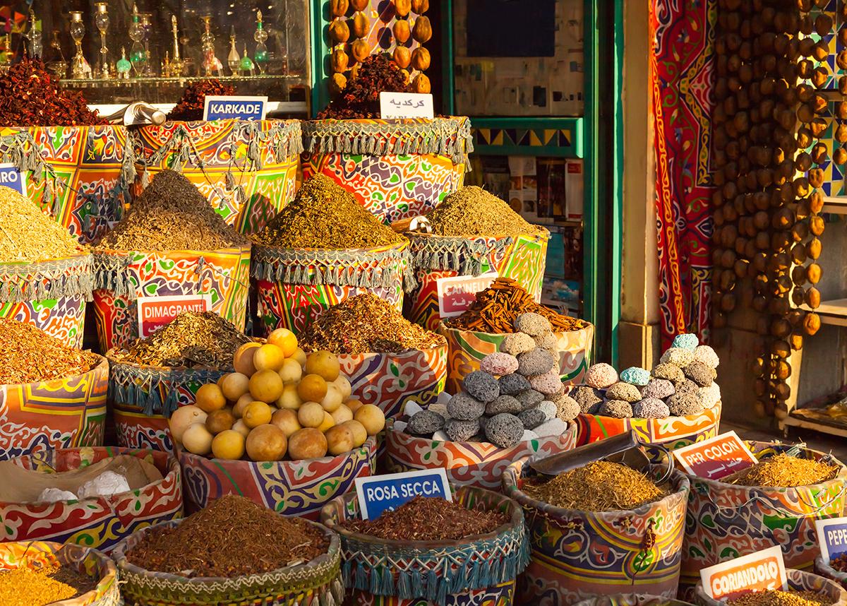 aswan spice market tour