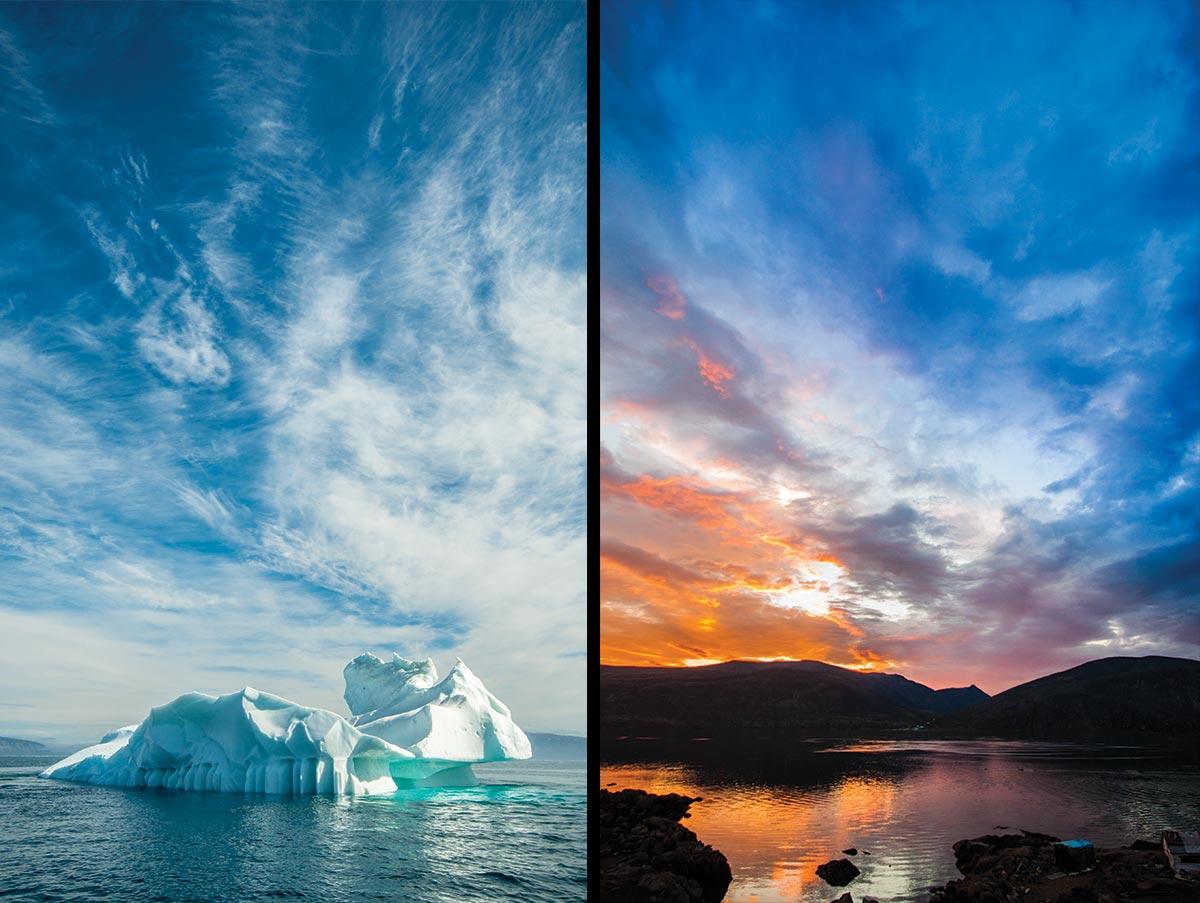 baffin island landscape photos